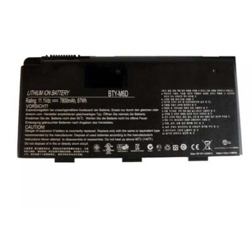 Compatible Notebook Akku MSI  for BTY-M6D